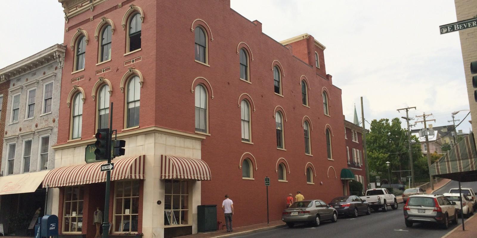 Historic Commercial – 29 East Beverley – Staunton, VA
